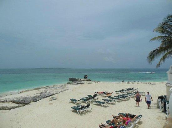 Hotel Riu Palace Las Americas:                   playa