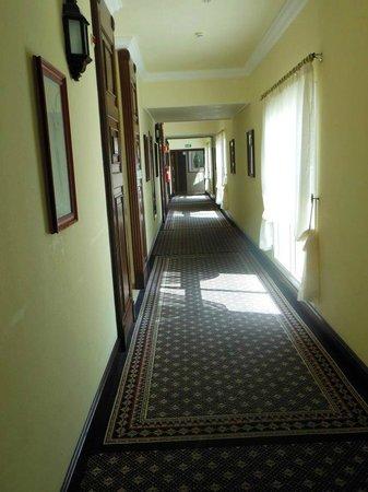 Hotel Riu Palace Las Americas:                   pasillo de las piezas