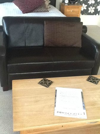The Crown Hotel: Suite Sofa