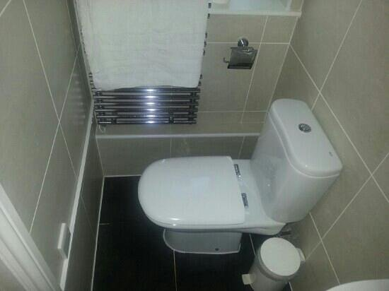 BEST WESTERN West Grange Hotel:                   Rediculous toilet with 4 inches between wall and scalding hot towel rail next