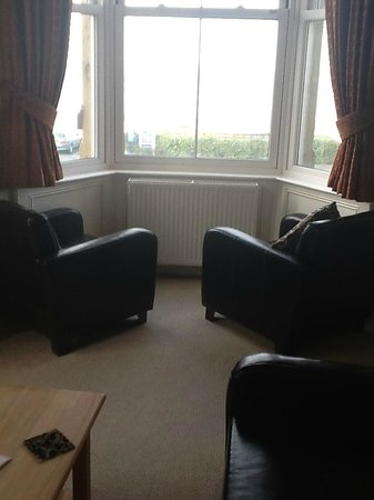 The Crown Hotel: Suite, Sitting area & View from room