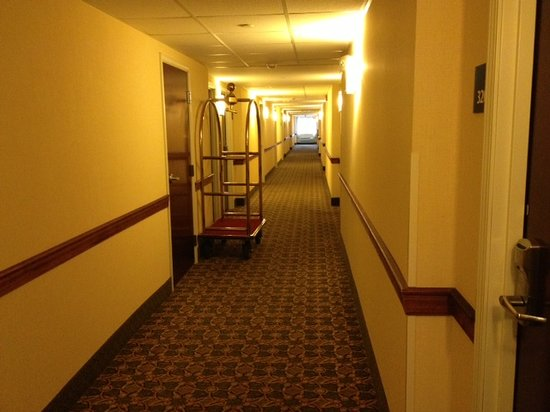Holiday Inn Express & Suites Niagara Falls:                   hallway