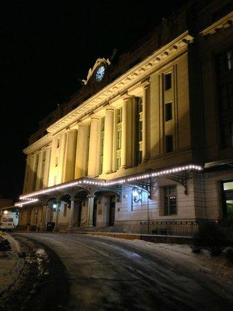 Radisson Lackawanna Station Hotel Scranton:                   Front