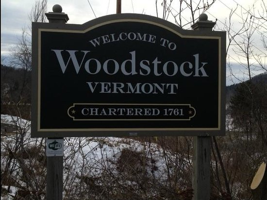 ‪‪Woodstock Inn and Resort‬:                   Entering woodstock