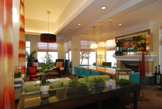 Lobby Picture Of Hilton Garden Inn Columbus Grove City Grove City Tripadvisor