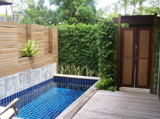 Tango Luxe Beach Villa :                   Vue de votre chambre coté entrée