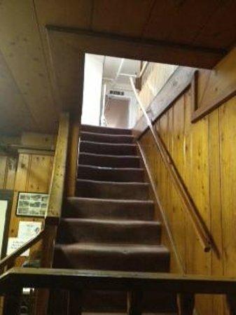 Leland Hotel :                   Entrance Stairs