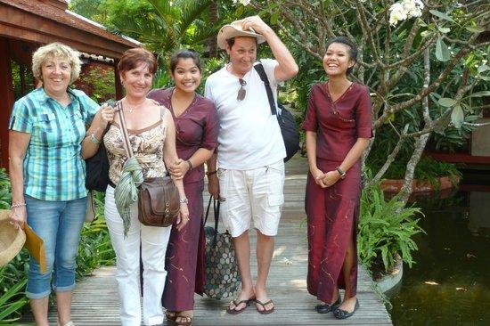 Zazen Boutique Resort & Spa:                   Des sourires tout au long du séjour