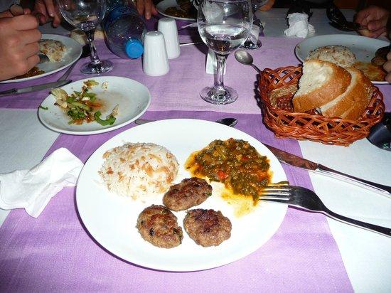 Hotel Benna:                   repas du soir