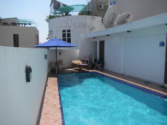 Central Boutique Inn :                   the miniscule pool