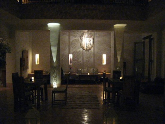 Riad de Vinci:                   patio interior
