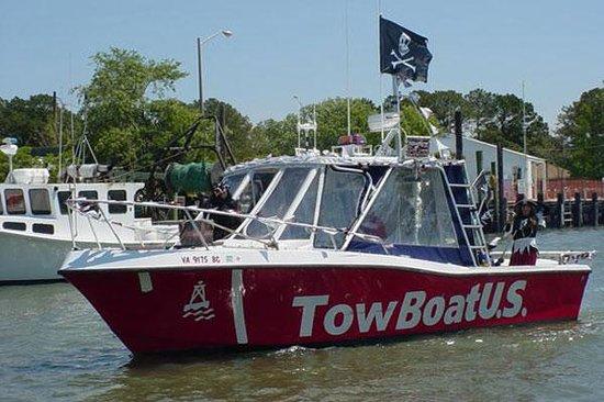 Marina Shores Marina: Tow Boat US station
