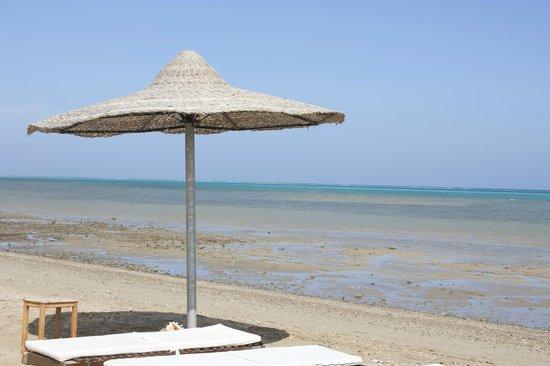 Le Mirage Moon Resort Marsa Alam:                   il mare davanti il mirage