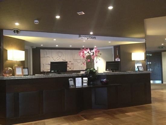 The Winchester Hotel & spa:                   Reception