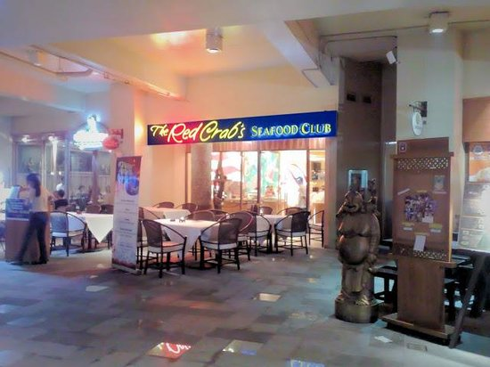 The Seafood Club by Red Crab :                                     entrance