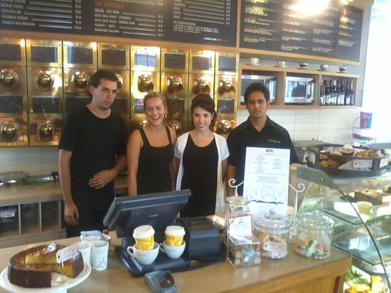 Columbus Coffee: Lunchtime Staff