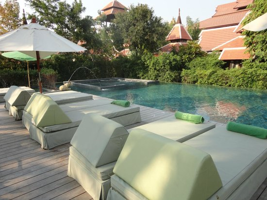 Siripanna Villa Resort & Spa:                   Siripanna Resort - Pool view