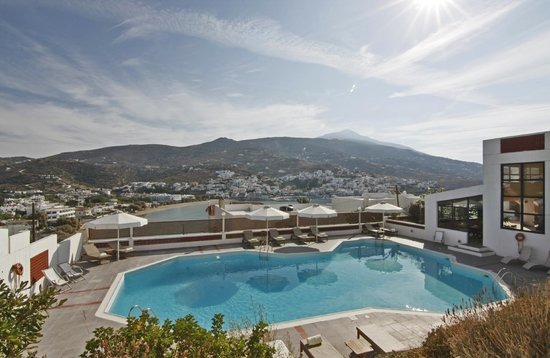 Mare Vista Hotel - Epaminondas: Pool and Sea View
