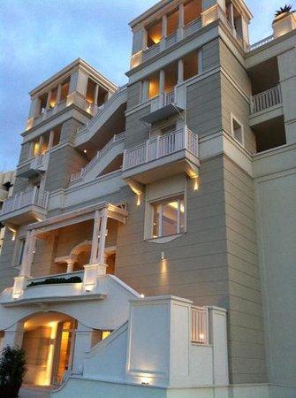 Hotel Corallo:                   la facciata
