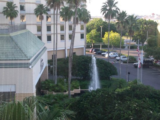 Rosen Inn at Pointe Orlando:                   A view from the room