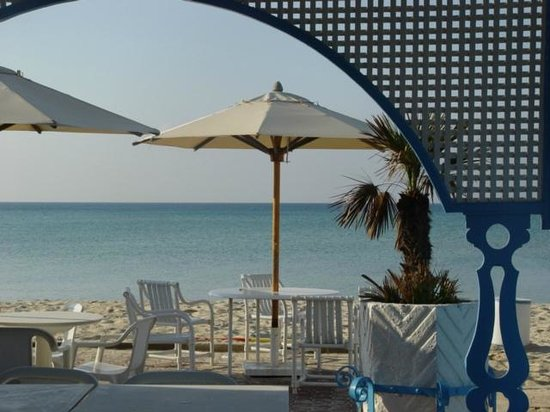 Le Hammamet Hotel :                   at the seaside