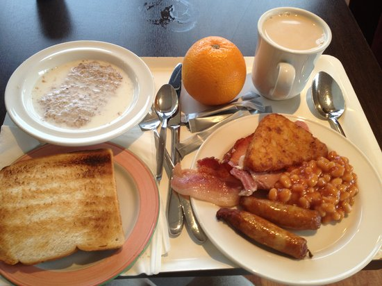 Ibis Dublin:                   Breakfast