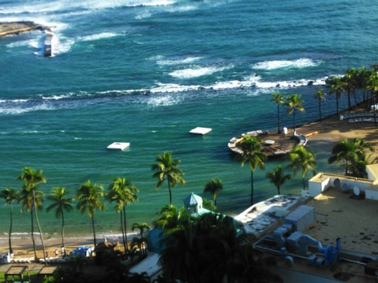 Caribe Hilton San Juan:                                                       wake up to this view priceless