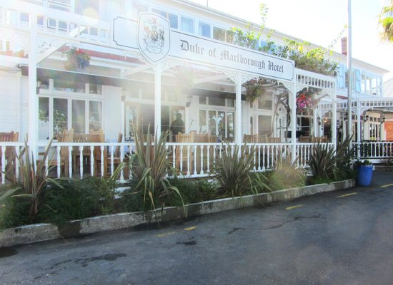 Duke of Marlborough Hotel:                   Front of the Duke of Marlborough