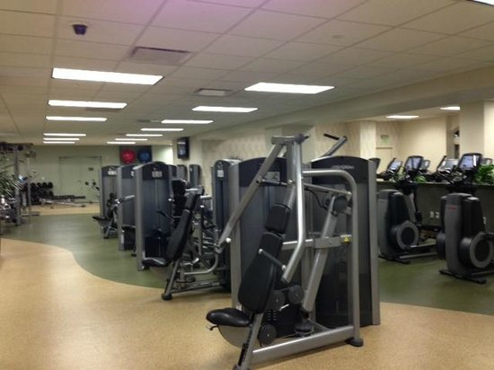 Gaylord Palms Resort & Convention Center:                   Fitness room!
