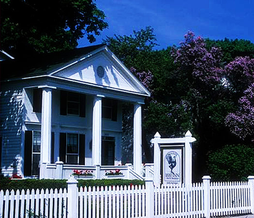 Haan's 1830 Inn on Mackinac Island is the oldest Greek Revival home in the Northwest Territory