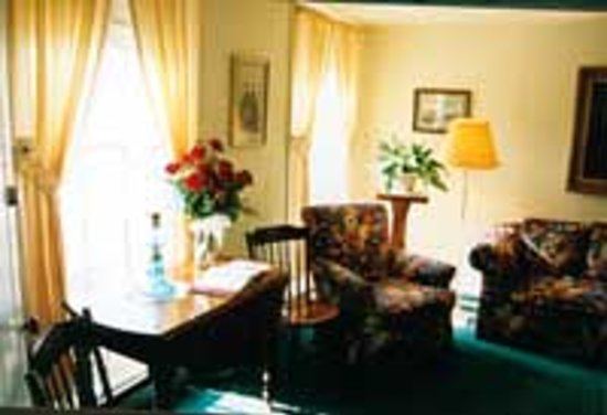 Your welcome home begins in the parlor of Haan's 1830 Inn