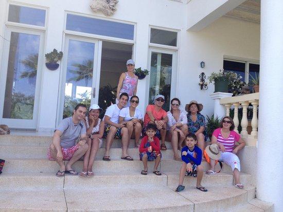 Hosteria Mar y Sol:                                                                         CON LA FAMILIA EN AÑO NU