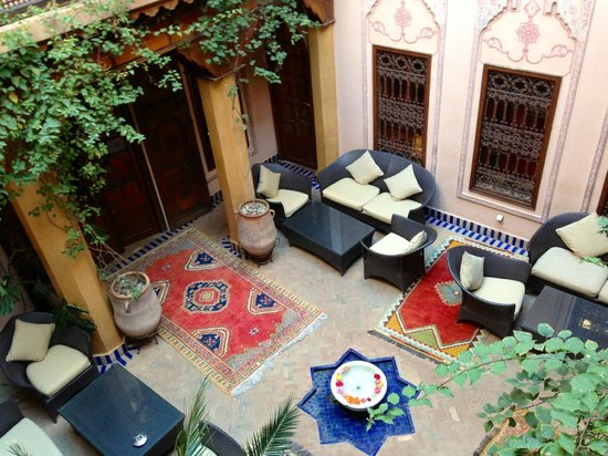 La Maison Arabe:                   Charming Courtyard