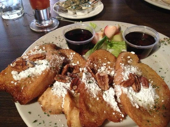 Star Steak & Lobster House:                   Pecan french toast