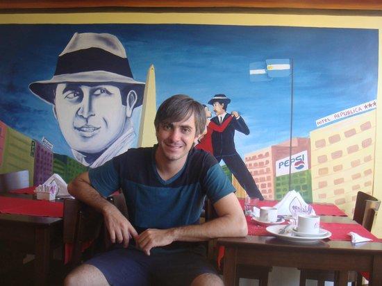 Ayres Portenos Tango Suites:                   desayuno en tango suites hotel!