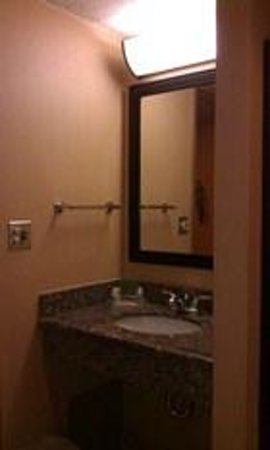 Holiday Inn Long Beach (Dwtn Area):                   separate sink from bathroom