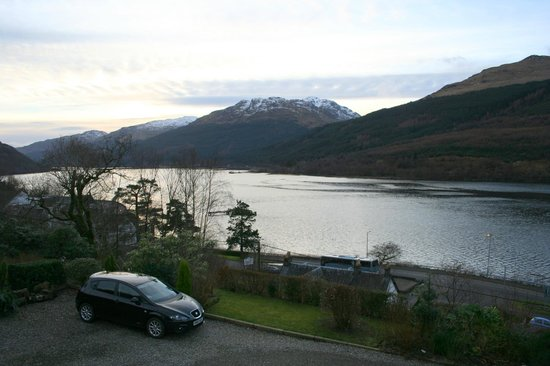 Braemor B&B:                   View from our magnificent room