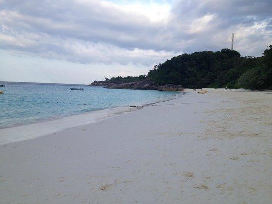 Similan Islands National Park:                   spiaggia