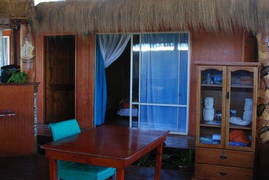 Kaimana Inn Hotel & Restaurant:                   View of the Outside of our Room                 