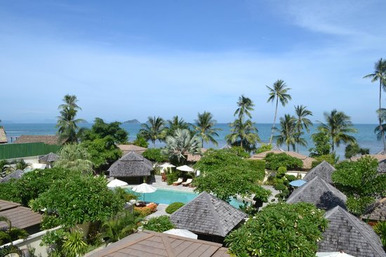 The Sunset Beach Resort & Spa, Taling Ngam:                   The room´s view