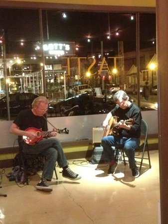 Taste At Oxbow :                   music on 1st and 3rd Fridays
