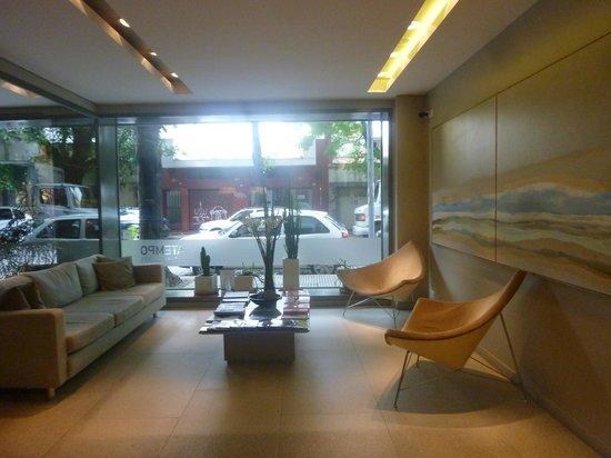 Atempo Design Hotel:                   reception