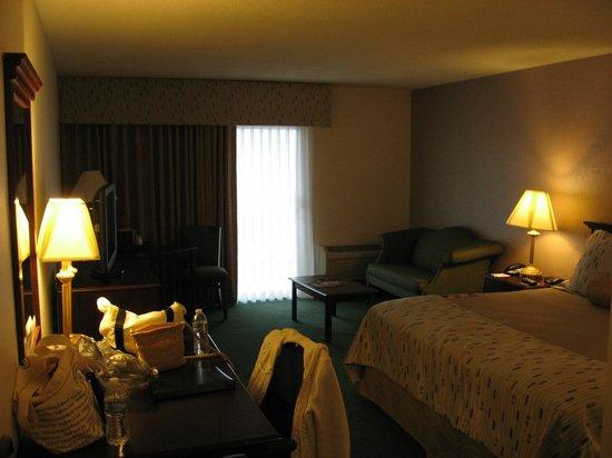 Clarion Hotel Philadelphia International Airport :                   Clarion Hotel Room 233 Sitting Area