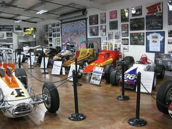 Estrella Warbird Air Museum:                   racecars!