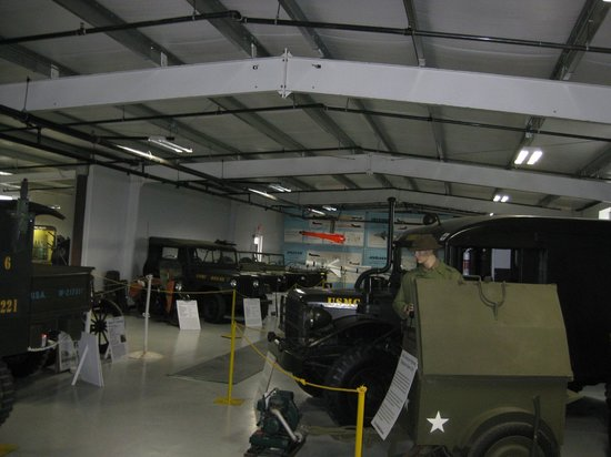 Estrella Warbird Air Museum:                   awesome indoor jeep collection!