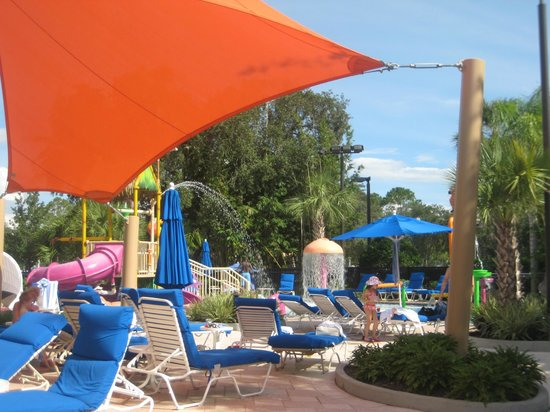 Renaissance Orlando Resort at SeaWorld:                   Kids water play area
