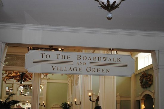 Disney's BoardWalk Villas:                   boardwalk