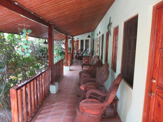 Hotel Bula Bula:                   rocking chairs
