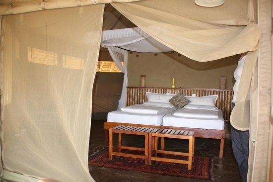 Severin Safari Camp:                   Nice tents