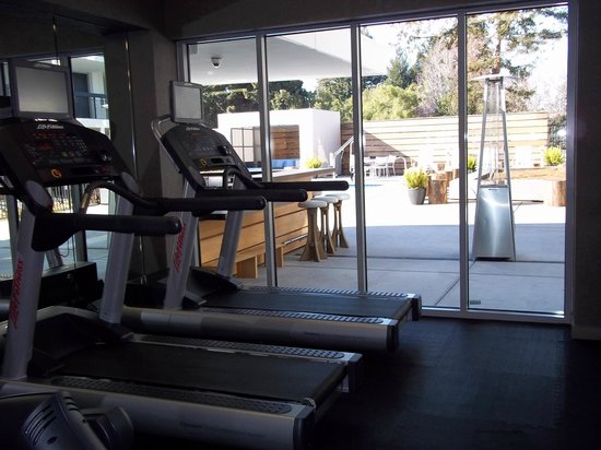 Hotel Paradox, Autograph Collection: Fitness Center overlooking pool